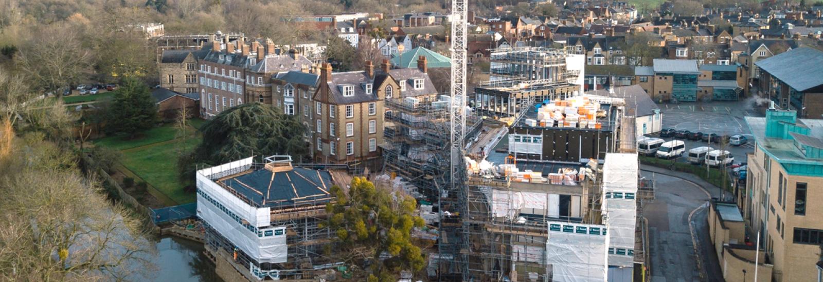 Building site Jan 2020