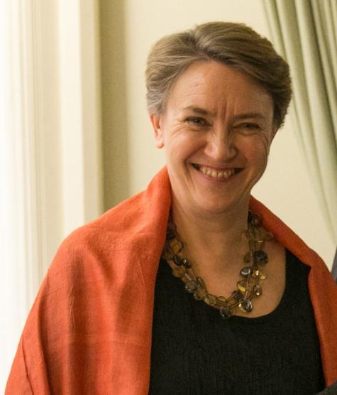 Dr Georgina Paul, Acting Principal, St Hilda's College
