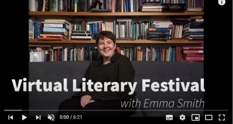 Emma Smith at St Hilda's Virtual Literary Festival