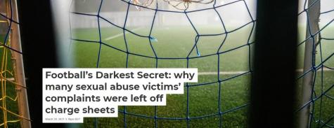 Football's Darkest Secret by Ailish Saker