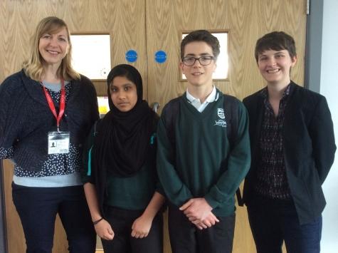 School visit by Hannah Rolley
