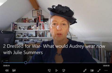 Julie Summers at St Hilda's Virtual Literary Festival