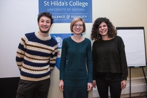 Giacomo Bertuzzi, Dr Helen Swift, and Giovanna Di Martino