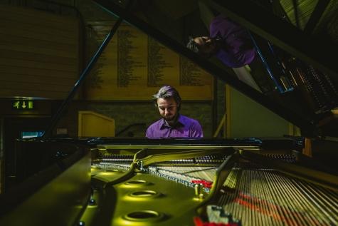 Carson Becke piano recital, Jacqueline du Pré Music Building, St Hilda's College