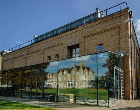 Jacqueline du Pre Building, Autumn 2015