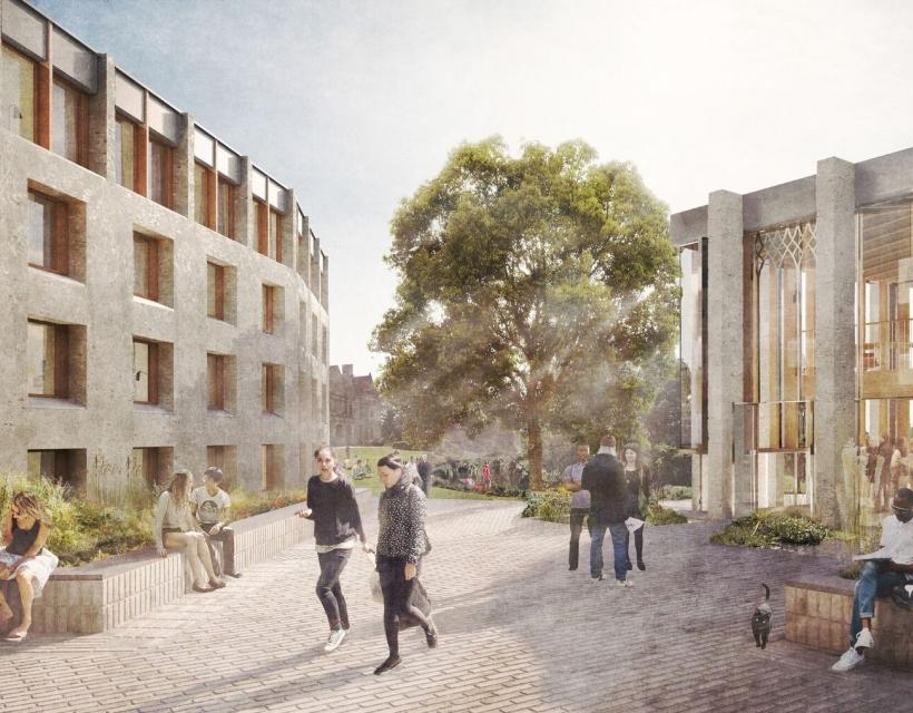 'Redefining St Hilda's' concept design