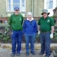 St Hilda's garden team creates a Suffragette Border