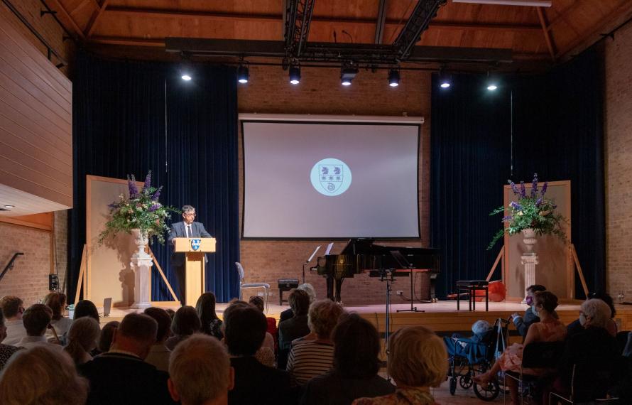 Farewell to Sir Gordon Duff, Principal of St Hilda's College 2014 - 2021, speech by Professor Chas Bountra