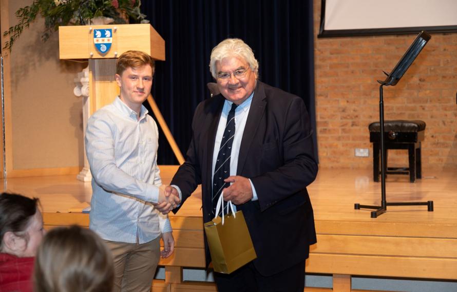 Farewell to Sir Gordon Duff, Principal of St Hilda's College 2014 - 2021, speech by James Bromfield, JCR President 2020-21