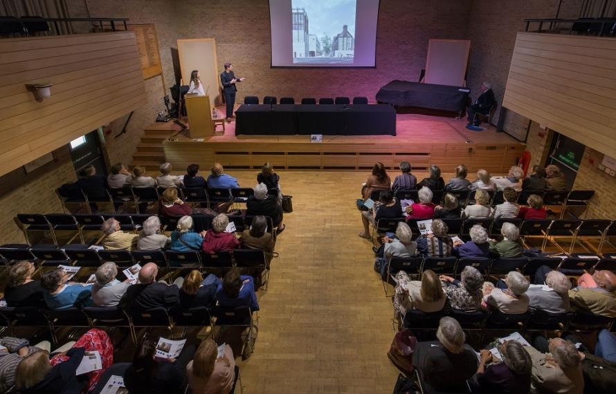 Gort Scott presentation Gaudy 2017